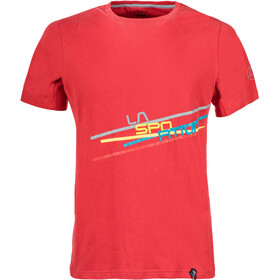 La Sportiva Stripe 2.0 Shortsleeve Shirt Men red